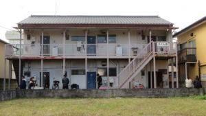 昭和でレトロなアパートスタジオ・さくら荘・看板・撮影により名前が変わります・