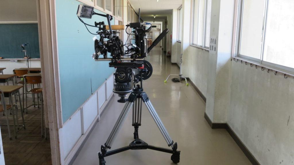 いろいろ撮影できちゃう学校スタジオ・撮影風景・アトリエミカミ撮影場所管理物件・ハウススタジオ