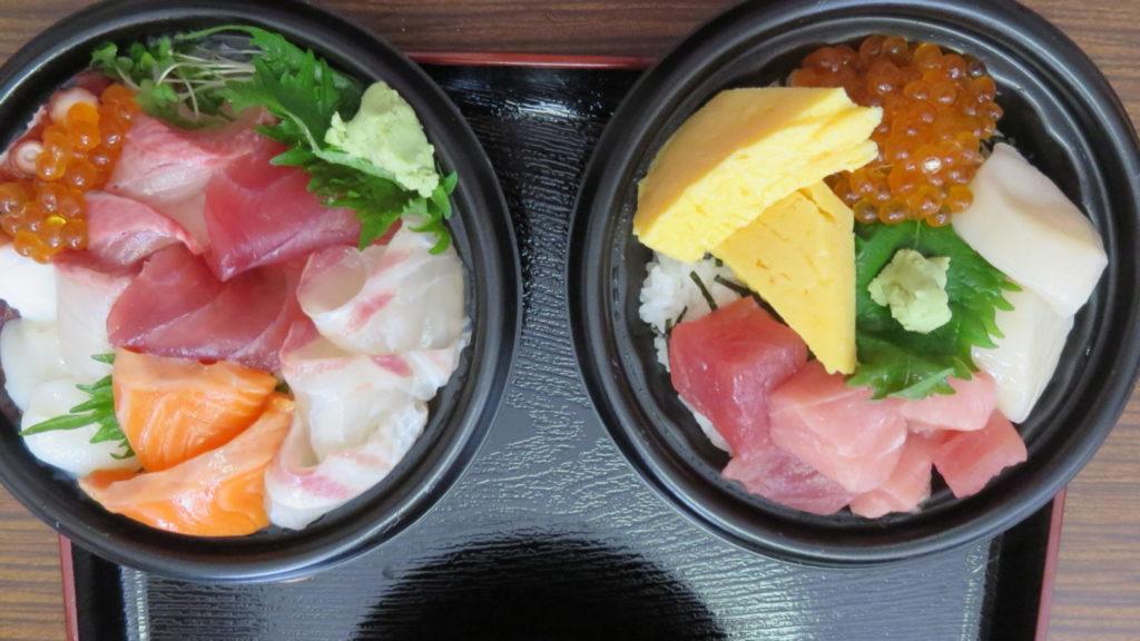 Iいろいろ撮影できちゃう学校スタジオ・近所の魚徳・海鮮丼弁当・激うま