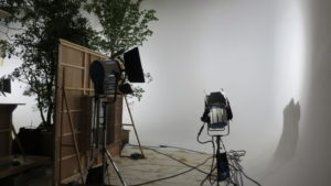 HMI照明・CM撮影現場・機材・動物撮影現場・アトリエミカミ・動物プロ