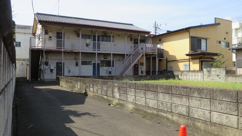 昭和でレトロなアパートスタジオ・外観・撮影専用アパートスタジオ・