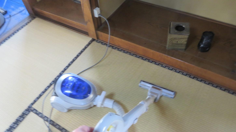 登録有形文化財橋本旅館スタジオ・旧館・2階・コンセント交換・修理・掃除機・