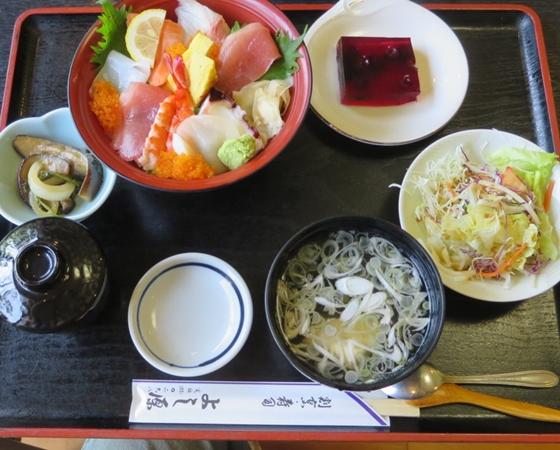 よし原・寿司割烹・ランチ・海鮮丼定食・真壁町・学校スタジオ近所