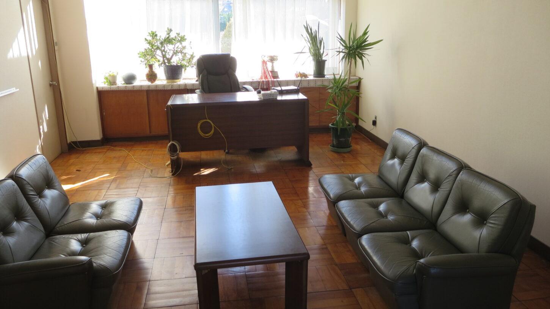 いろいろ撮影出来る学校スタジオ・植物・観葉植物・校長室・飾り・美術小道具・
