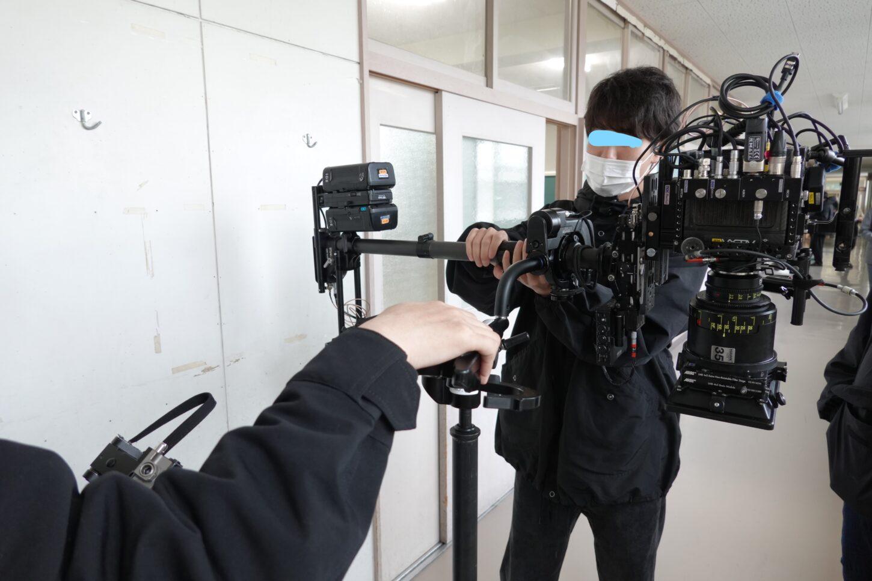 ウエーブCM・カメラ・いろいろ撮影できる学校スタジオ・ーブCM・カメラ・いろいろ撮影できる学校スタジオ・ALEXA Mini LF・いろ