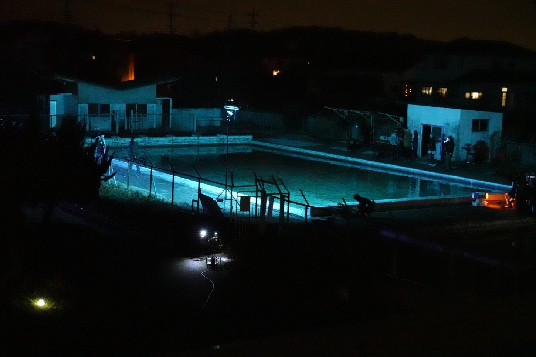 学校・プール・撮影風景・アトリエミカミ撮影場所管理物件・
