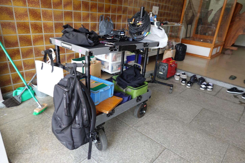 マグライナー・いろいろ撮影できる学校スタジオ・ミュージックビデオ撮影の現場