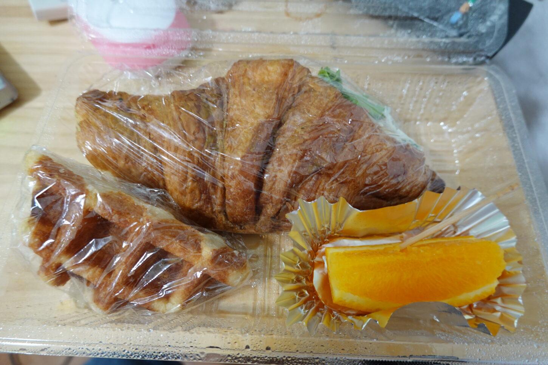 朝ご飯・ロケ弁・朝弁・撮影現場飯・朝食・パン