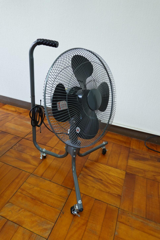 学校スタジオ・業務用扇風機・風強力・首振り・貸出