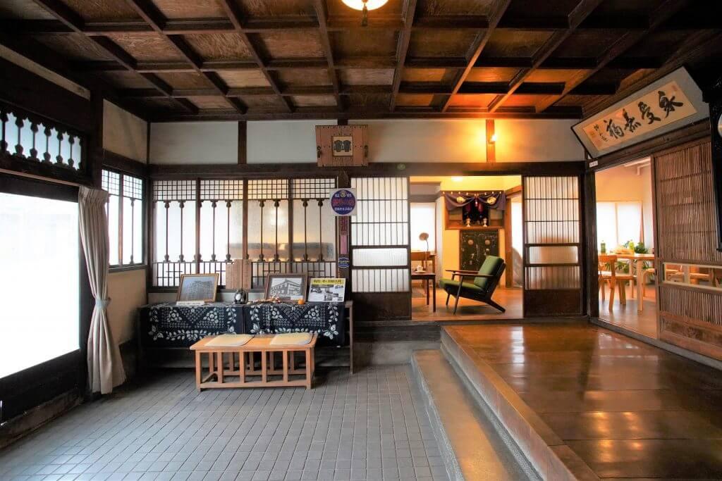 登録有形文化財橋本旅館スタジオ