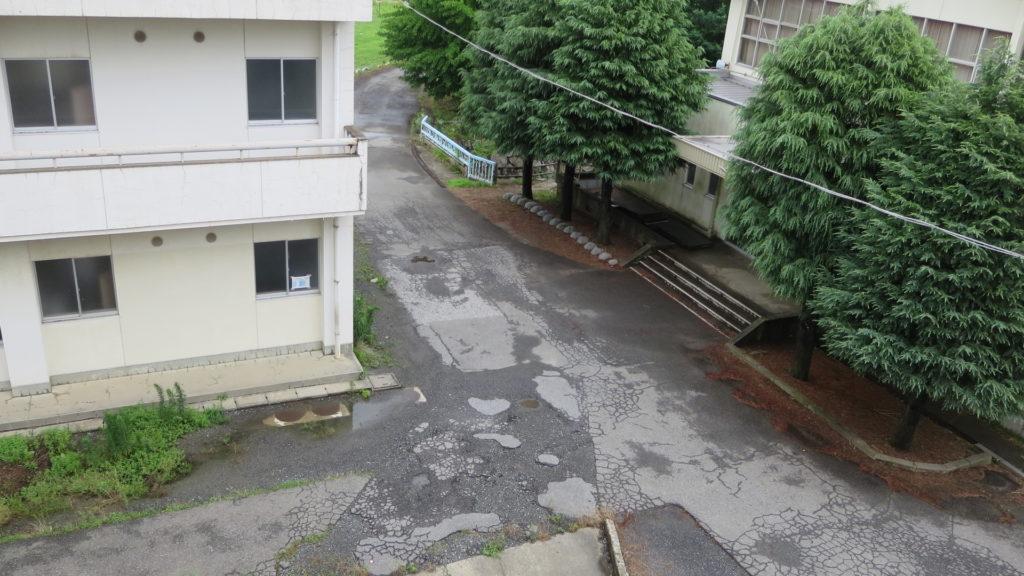 学校まるごとスタジオ・屋上から撮影
