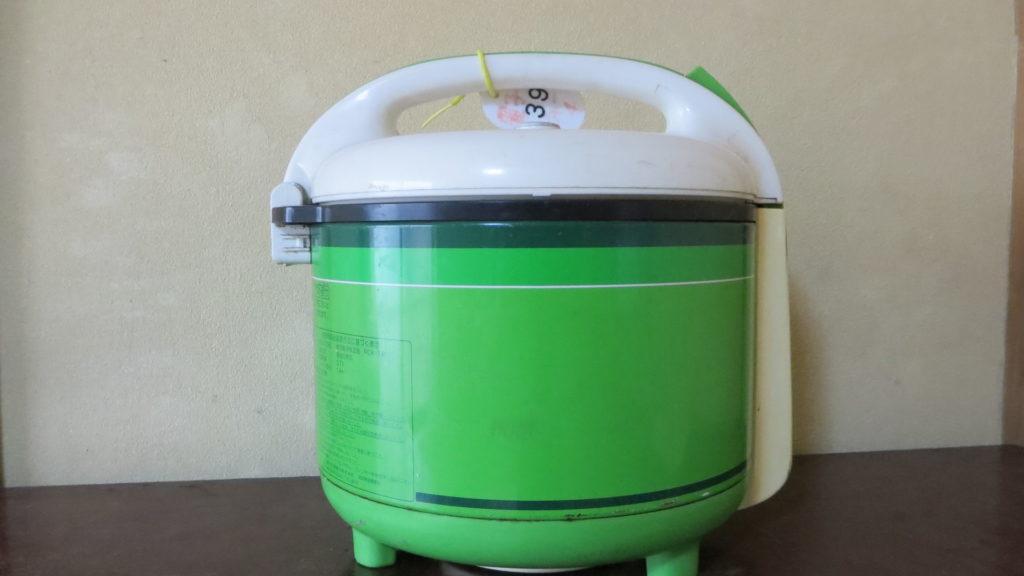 昭和レトロな炊飯器1970年代