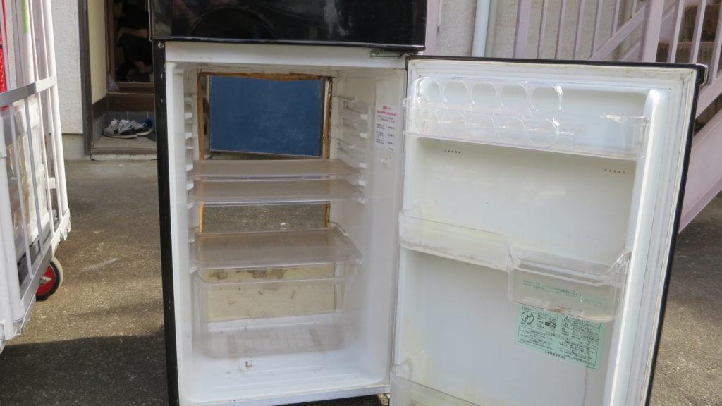冷蔵庫・裏・くりぬき・カメラポジション・撮影・美術・セット・ハウススタジオ・アトリエミカミ・昭和・レトロ・アパート