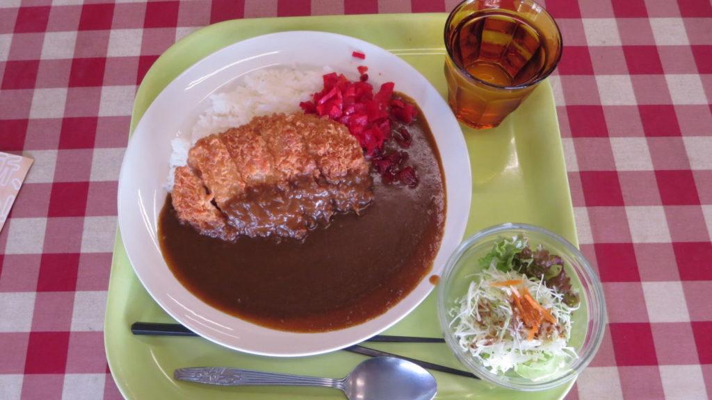 日活撮影内・食堂・カツカレー750円・アトリエミカミと日活撮影所と打合せの時・寄り道