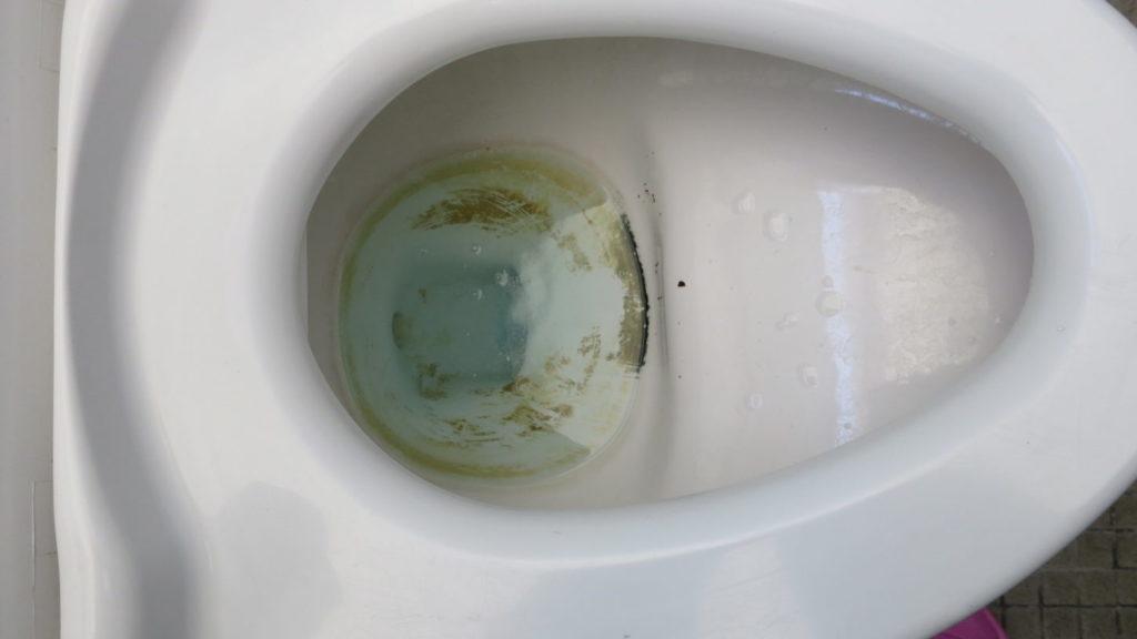 学校スタジオ・トイレ洗浄中・綺麗・清潔・掃除