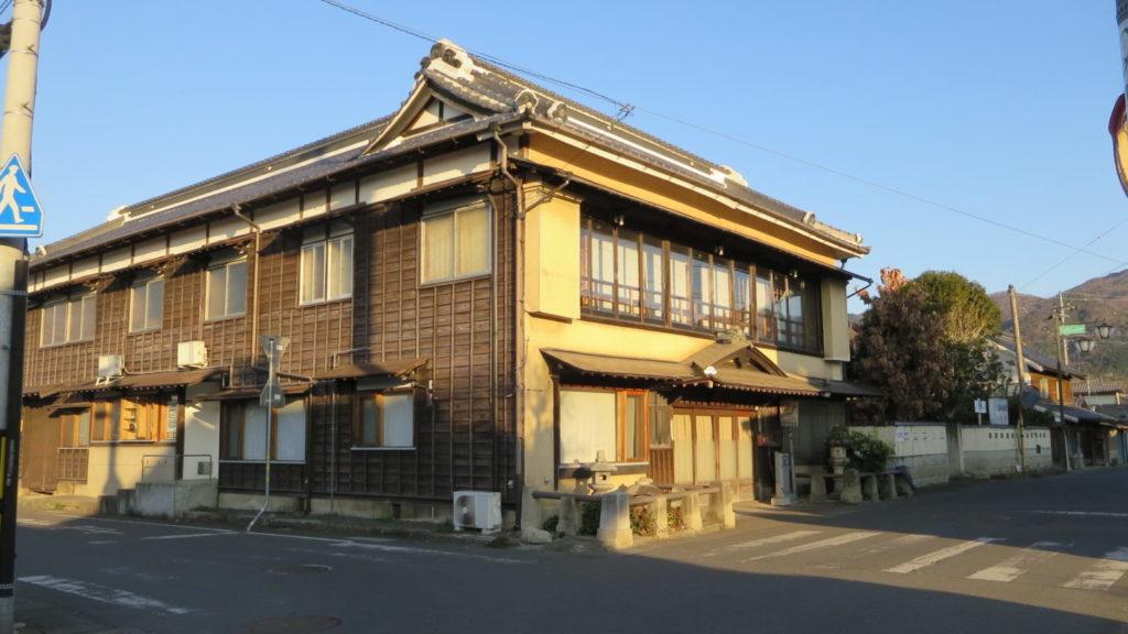 登録有形文化財橋本旅館スタジオ・外観・真壁町・東京駅から車で90分
