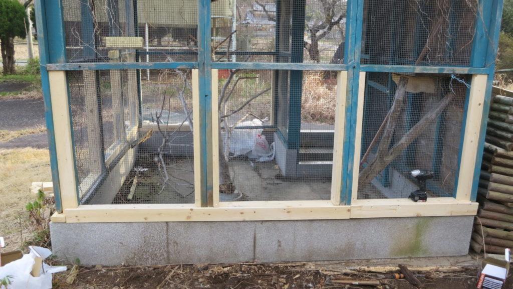 いろいろ撮影できちゃう学校スタジオ・飼育小屋・鳥小屋・飼育委員・修理・復元