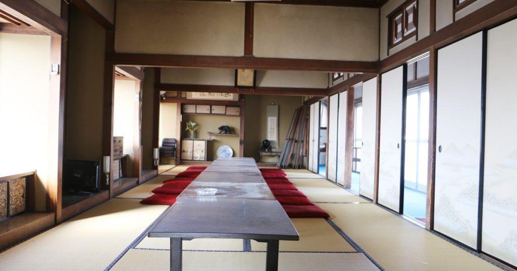 登録有形文化財橋本旅館