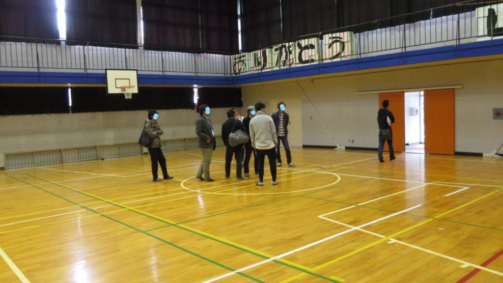 まるごと撮影で使える学校スタジオ・メインロケハン中・映画撮影・撮影スタッフ