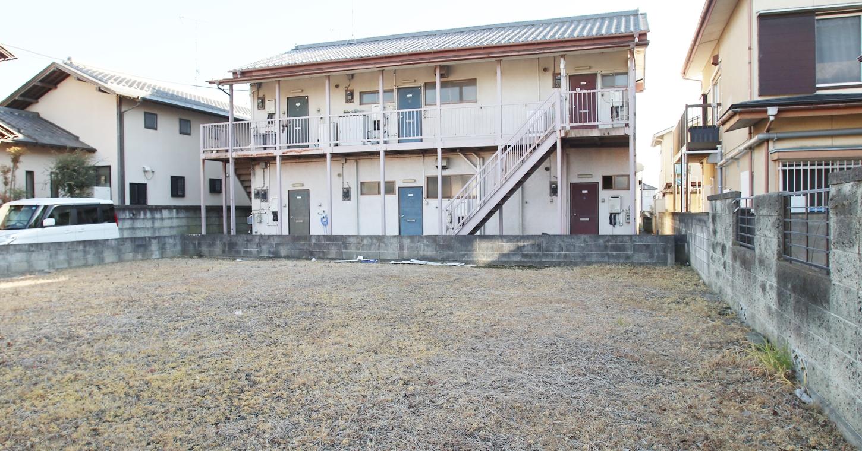 昭和でレトロなアパートスタジオ外観