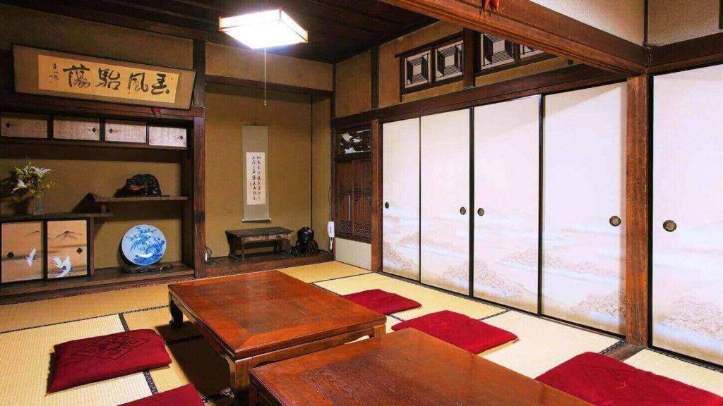 登録有形文化財橋本旅館スタジオ・2階