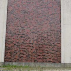 いろいろ撮影できちゃう学校スタジオ・校舎・横の壁面・グラビア撮影