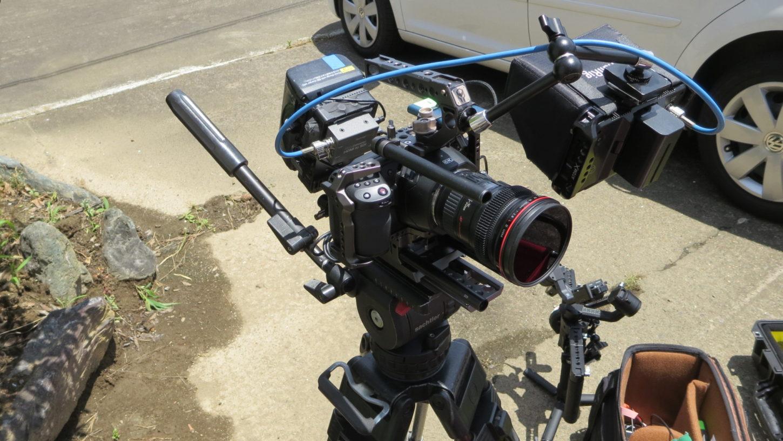 ブラックマジック6k・カメラ・ミュージックビデオ撮影の現場・アトリエミカミ・昭和でレトロなアパートスタジオ