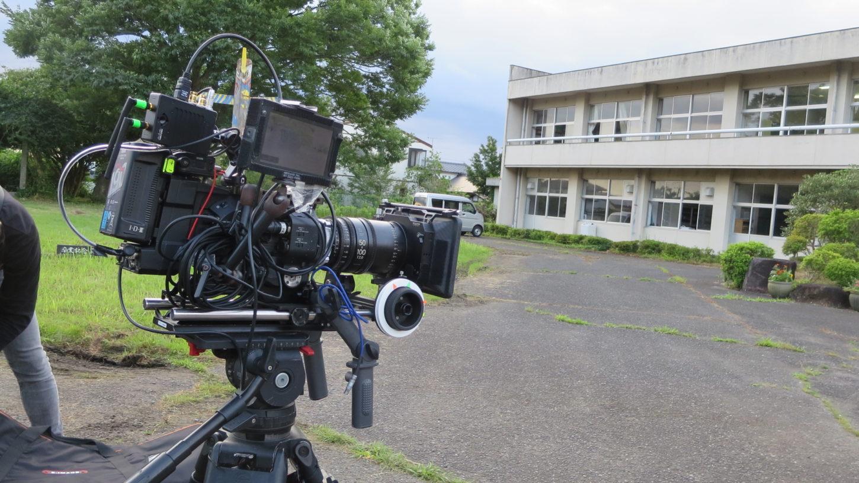 いろいろ撮影できる学校スタジオ・撮影・カメラ・ソニーFS7・連続ドラマ
