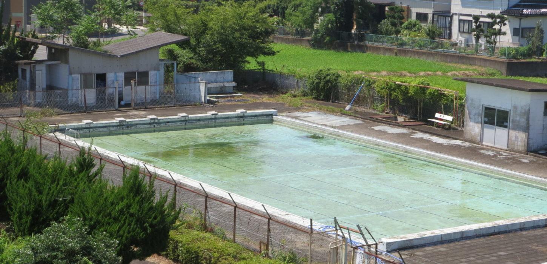 いろいろ撮影できる学校スタジオのプール・水が入り・撮影開始・プール開き・プール貸出・レンタル・貸し切り