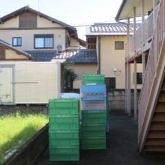 昭和でレトロなアパートスタジオ・装飾部・美術道具搬入・美術トラック・横付けできます。