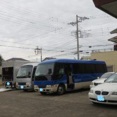 マイクロバスロング・トイレ付・ロケバス・撮影車両・トイレ事情