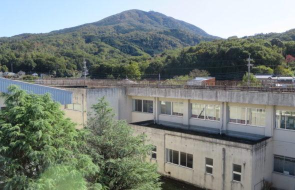 いろいろ撮影できる学校スタジオ・第2校舎屋上からの撮影