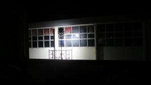 いろいろ撮影できる学校スタジオ・体育館・外から・12kwの照明・