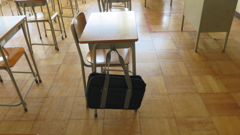 学校スタジオ・学生カバン・中学生用・高校生用・小道具・持ち道具