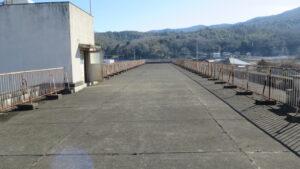 いろいろ撮影できる学校スタジオ・屋上西側から撮影