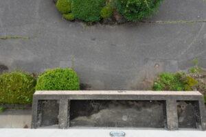 学校スタジオ・正面玄関・屋上からの俯瞰