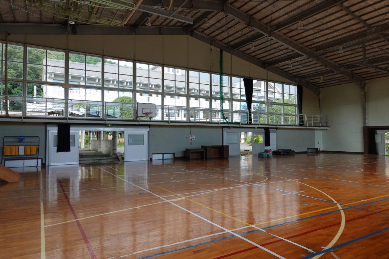 千葉県・中学校・体育館・ロケハン・下見・
