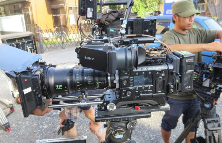 ハウススタジオで観るカメラ