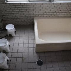 アトリエミカミ・大型戸建スタジオ・元ビジネスホテル・共同浴槽・風呂