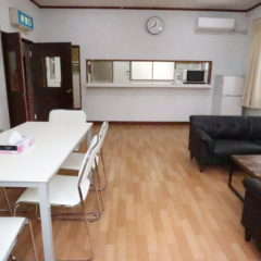 水海道戸建スタジオ右側の部屋
