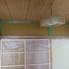 昭和でレトロなアパートスタジオ・壁・塗装