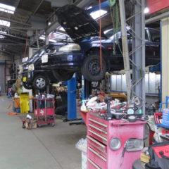 自動車整備工場・撮影場所、ロケ地