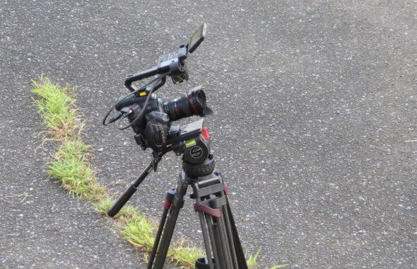 まるまる撮影で使える学校スタジオ・使用してた・カメラ・キャノンc300