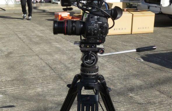 再現ドラマ撮影のカメラはキャノンC300が多いです。