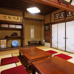 登録有形文化財橋本旅館 アトリエミカミのスタジオ